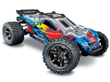 Traxxas TRX67076-4 Rustler 4x4 VXL - Orange